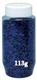 COLOURED GLITTER 113g Blue