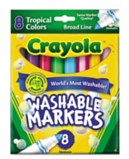 Markers - Crayola 8 Super Washable Markers Markers