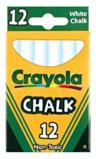 Crayola White Chalk 12 Boxes