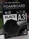A3 FOAMBOARD PK 5 BLACK