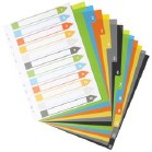 ECO A4 Index File Dividers