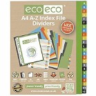 ECO A4 A-Z Index File Dividers