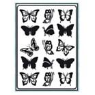 Embossing Stencils - Butterflies