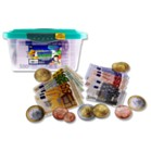 EURO COINS & PAPER MONEY SET