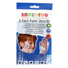 6 Face Painting Stencils for Boys