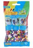 Hama Beads 1000 Pack - Multicoloured
