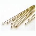 Head Pins Pack of 100 - Gold