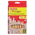 Colouring Pencils - Herlitz 12 Larege Triangular colouring pencils