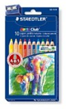 Colouring Pencils - Staedtler Noris 10 Jumbo Triangular colouring pencils