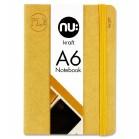 Nu Kraft A6 stitched lined notebook