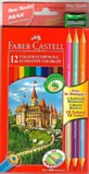 Colouring Pencils - Faber Castell 12 full length colouring pencils