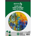 Reeves A4 Acrylic Pad