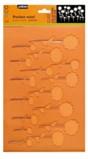 Pebeo Relief Stencil - Meadow