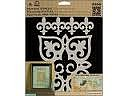 2 Laser Cut Stencils! Ideal for Paintings. Easy Decorator Touches on any Surface.