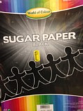A4 Sugar Paper Pack 200 Sheets - Black