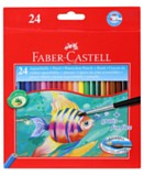 Watercolour Pencils Pack of 24