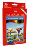 Watercolour Pencils Pack of 36