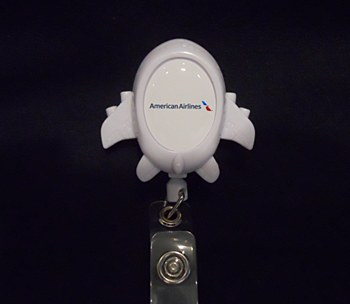 Airplane Badge Holder