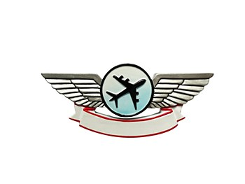 Airplane Wings Ornament