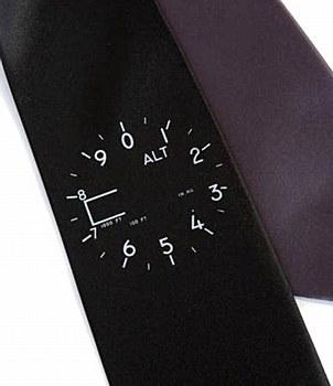Altimeter Silk Tie