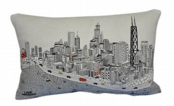 Chicago Pillow - Day
