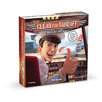 """""""Clear for Takeof"""" Board Game"""