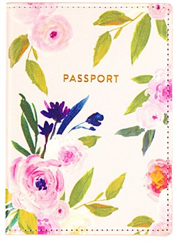 Floral Pasport Cover