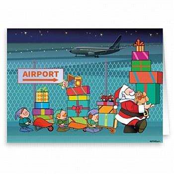 Holiday Card-Airport