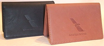 Leather Card Case BLK