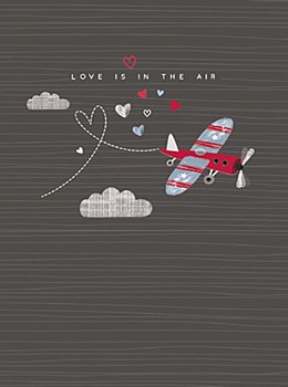 """""""Love is in the Air"""" Card"""