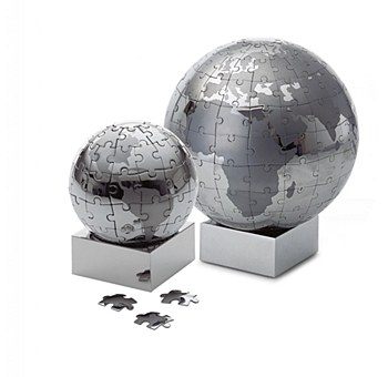Magnetic Puzzle Globe -  Small