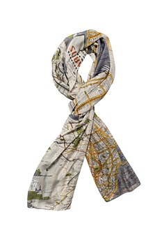 Map Scarf New York