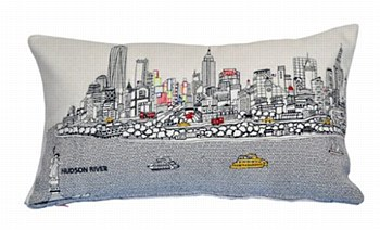 NYC  Pillow - Day