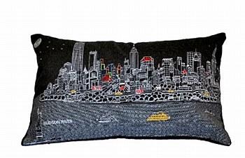 NYC  Pillow  - Night