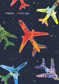 Planes Birthday Card