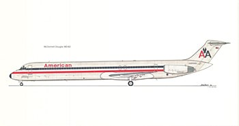 Print of MD80