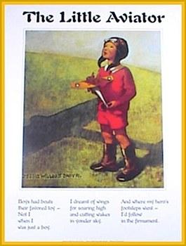 """The Little Aviator"" Poster"
