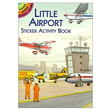 """Lil Airport Sticker Activity"""