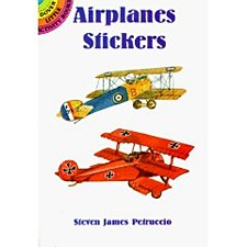 """Airplane Stickers"""