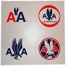 4 Logos Stickers