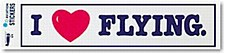 Sticker/I Love Flying