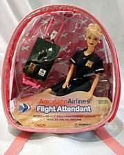 Blonde AA F/A Doll Back Pack