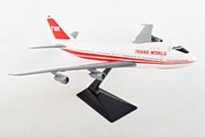 747 TWA Red Stripe 1:250 Scale