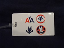 4 Logo Bag Tag