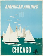 AA Vintage Chicago  11 x 14