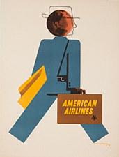 AA Vintage Traveler 11 x 14