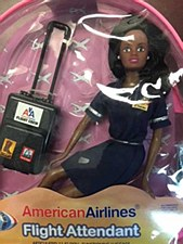 African Am F/A Doll Back Pack