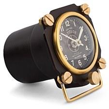 Altimeter Table Clock Black
