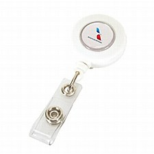 Badge Holder WHITE