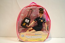 Brunette AA F/A Doll Back Pack